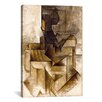<strong>iCanvasArt</strong> 'The Rower' by Pablo Picasso Painting Print on Canvas