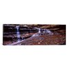 iCanvasArt Panoramic Stream Flowing Through Rocks, North Creek, Zion National Park, Utah Photographic Print on Canvas