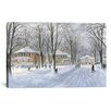 "iCanvas ""The Snowball Fight"" Canvas Wall Art by Stanton Manolakas"