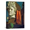 """<strong>""""The Song of Love"""" Canvas Wall Art by Giorgio de Chirico</strong> by iCanvasArt"""