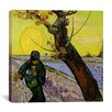 "iCanvas ""The Sower"" Canvas Wall Art by Vincent Van Gogh"