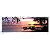iCanvas Panoramic Sunrise over Lake Whippoorwill, Orlando, Florida Photographic Print on Canvas