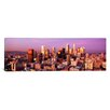 iCanvas Panoramic Sunset Skyline Los Angeles, California Photographic Print on Canvas