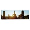 iCanvas Panoramic Statue of Buddha at Sunset, Sukhothai Historical Park, Sukhothai, Thailand Photographic Print on Canvas in Color