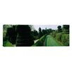 iCanvas Panoramic Sculptures Formed from Trees and Plants in a Garden, Ladew Topiary Gardens, Monkton, Baltimore County, Maryland Photographic Print on Canvas
