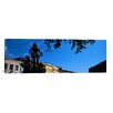 iCanvas Panoramic Statues in front of Buildings, French Market, French Quarter, New Orleans, Louisiana Photographic Print on Canvas