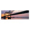 <strong>Panoramic Sunset, Hernandez Desoto Bridge and Mississippi River, Me...</strong> by iCanvasArt