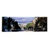 <strong>iCanvasArt</strong> Panoramic Street Scene, San Francisco, California Photographic Print on Canvas
