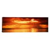 <strong>Panoramic Sunset, Lake Geneva, Switzerland Photographic Print on Ca...</strong> by iCanvasArt