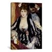 iCanvasArt 'The Theatre Box (La Loge)' by Pierre-Auguste Renoir Painting Print on Canvas