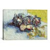 iCanvas 'Still Life with Red Cabbages and Onions' by Vincent Van Gogh Painting Print on Canvas