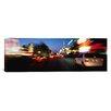 iCanvas Panoramic The Strip At Dusk, Las Vegas, Nevada Photographic Print on Canvas