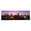 iCanvas Panoramic Skyscrapers in a City at Dusk, Chicago, Illinois Photographic Print on Canvas