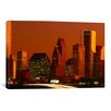 iCanvas Panoramic 'Skyscrapers in a City at Sunset, Houston, Texas' Photographic Print on Canvas
