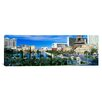 <strong>Panoramic The Strip Las Vegas Nevada Photographic Print on Canvas</strong> by iCanvasArt