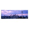 iCanvasArt Panoramic Skyscrapers in a City, Seattle, Washington State Photographic Print on Canvas
