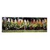 iCanvas Panoramic Surfboard Fence in a Garden, Maui, Hawaii Photographic Print on Canvas
