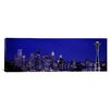 iCanvasArt Panoramic Panoramic Skyscrapers Photographic Print on Canvas