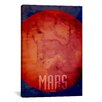 iCanvas 'The Planet Mars' by Michael Thompsett Painting Print on Canvas