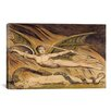 iCanvasArt 'Satan Exulting over Eve' by William Blake Painting Print on Canvas