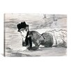 iCanvas 'Woman Lying on The Beach (Annabel Lee)' by Edouard Manet Painting Print on Canvas