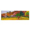 iCanvasArt 'Tahitian Landscape' by Paul Gauguin Painting Print on Canvas