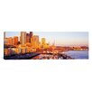 iCanvas Panoramic Seattle Washington Photographic Print on Canvas