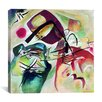 "iCanvas ""With Black Arch"" Canvas Wall Art by Wassily Kandinsky"