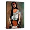 "iCanvas ""The Italian Woman"" Canvas Wall Art by Henri Matisse"