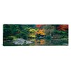 iCanvasArt Panoramic The Japanese Garden Seattle Washington Photographic Print on Canvas