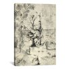 iCanvasArt 'The Man Tree' by Hieronymus Bosch Painting Print on Canvas
