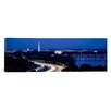 iCanvas Panoramic Traffic on the Road, Washington Monument, Washington, D.C. Photographic Print on Canvas