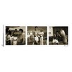 iCanvas Muhammad Ali Training in Action, at the Gym Panoramic Photographic Print on Canvas