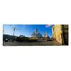 iCanvas Panoramic Tram Moving on a Road, Senate Square, Helsinki, Finland Photographic Print on Canvas
