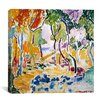"iCanvas ""The Joy of Life (1905)"" by Henri Matisse Painting Print on Canvas"