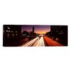 iCanvas Panoramic Traffic on the Road, City of Los Angeles, California Photographic Print on Canvas