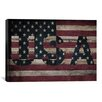 iCanvas Flags U.S.A. Stars Board Graphic Art on Canvas
