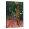 iCanvasArt 'Words of The Devil (Parau na te Varua ino)' by Paul Gauguin Painting Print on Canvas