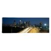 iCanvas Panoramic Traffic Moving on a Road, Philadelphia, Pennsylvania Photographic Print on Canvas