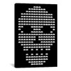 iCanvasArt Space Invaders Skull Invaders Graphic Art on Canvas