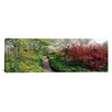 <strong>iCanvasArt</strong> Panoramic Garden of Eden, Ladew Topiary Gardens, Baltimore County, Maryland Photographic Print on Canvas