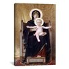 iCanvas 'The Seated Madonna (Madone Assise)' by William-Adolphe Bouguereau Painting Print on Canvas