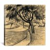 "iCanvas ""Tree in the Cornfield"" Canvas Wall Art by August Macke"