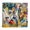 "iCanvas ""Sketch for Composition"" Canvas Wall Art by Wassily Kandinsky"