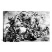 iCanvas 'The Battle of Anghiari' by Peter Paul Rubens Painting Print on Canvas
