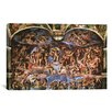 iCanvas 'Sistine Chapel: The Last Judgement' by Michelangelo Buonarroti Painting Print on Canvas