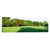 <strong>iCanvasArt</strong> Panoramic Trees on a Golf Course, Woodholme Country Club, Baltimore, Maryland Photographic Print on Canvas
