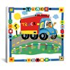 "<strong>iCanvasArt</strong> ""Truck"" Canvas Wall Art by Cheryl Piperberg"