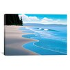 "iCanvasArt ""Summer Sand"" Canvas Wall Art by Ron Parker"