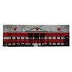 iCanvas Flags Washington, D.C Whitehouse Panoramic Graphic Art on Canvas